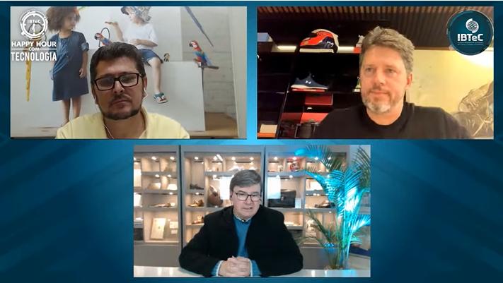 Pedro Bartelle e Carlos Mestriner  mostraram as ações de suas empresas  para enfrentar o efeitos da pandemia