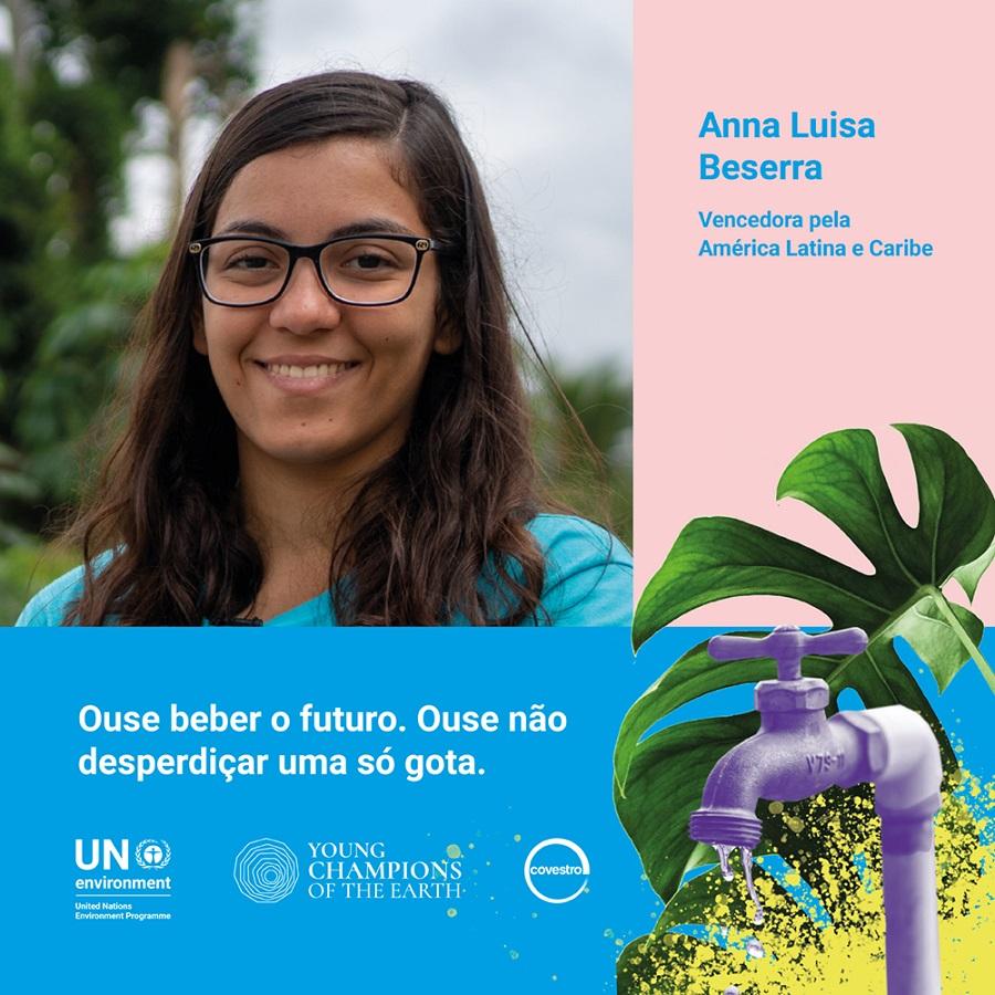 Brasileira é uma das vencedoras de prêmio ambiental da ONU patrocinado pela Covestro