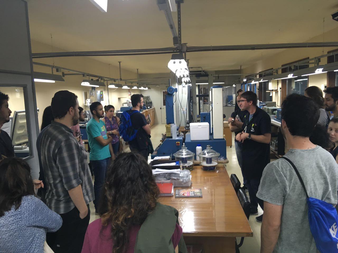 Turma de Alunos da Unisinos realiza visita técnica no IBTeC