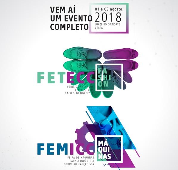 Feiras Fetecc Fashion e Femicc acontecem entre os dias 01 e 03 de agosto em Juazeiro do Norte (CE)