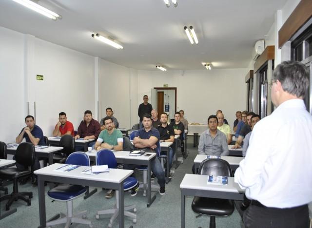 Presidente do IBTeC, Paulo Griebeler faz a saudação inicial aos participantes