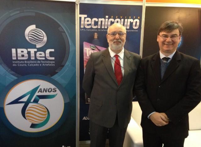 Mário Frassatti (ABIACAV) e Paulo Griebeler (IBTeC)