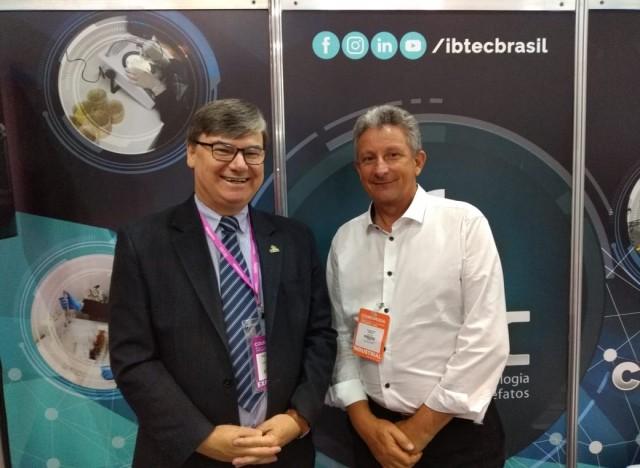 Paulo Griebeler (Presidente Executivo do IBTeC) e Cláudio Chies (Presidente do Conselho Deliberativo do IBTeC)