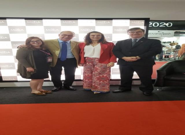 Equipe do Sebrae RS com o Presidente Executivo do IBTeC