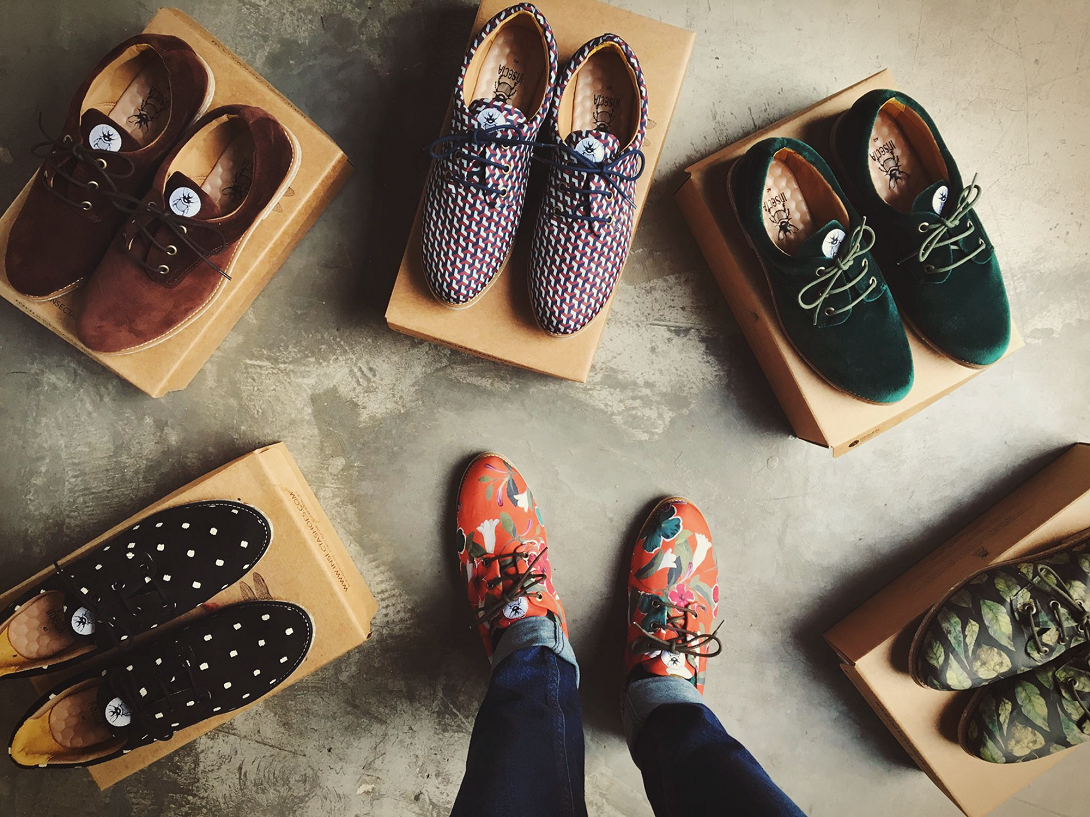 Insecta, uma marca de calçados 100% sustentável