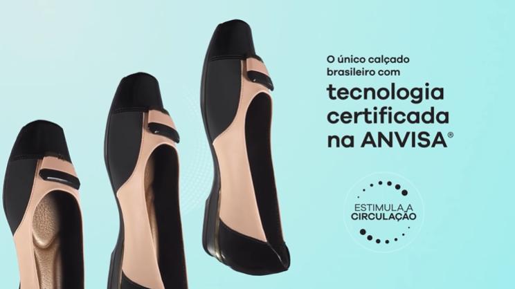 Picaddilly lança linha de calçados que melhora microcirculação sanguínea e recebe certificação da ANVISA
