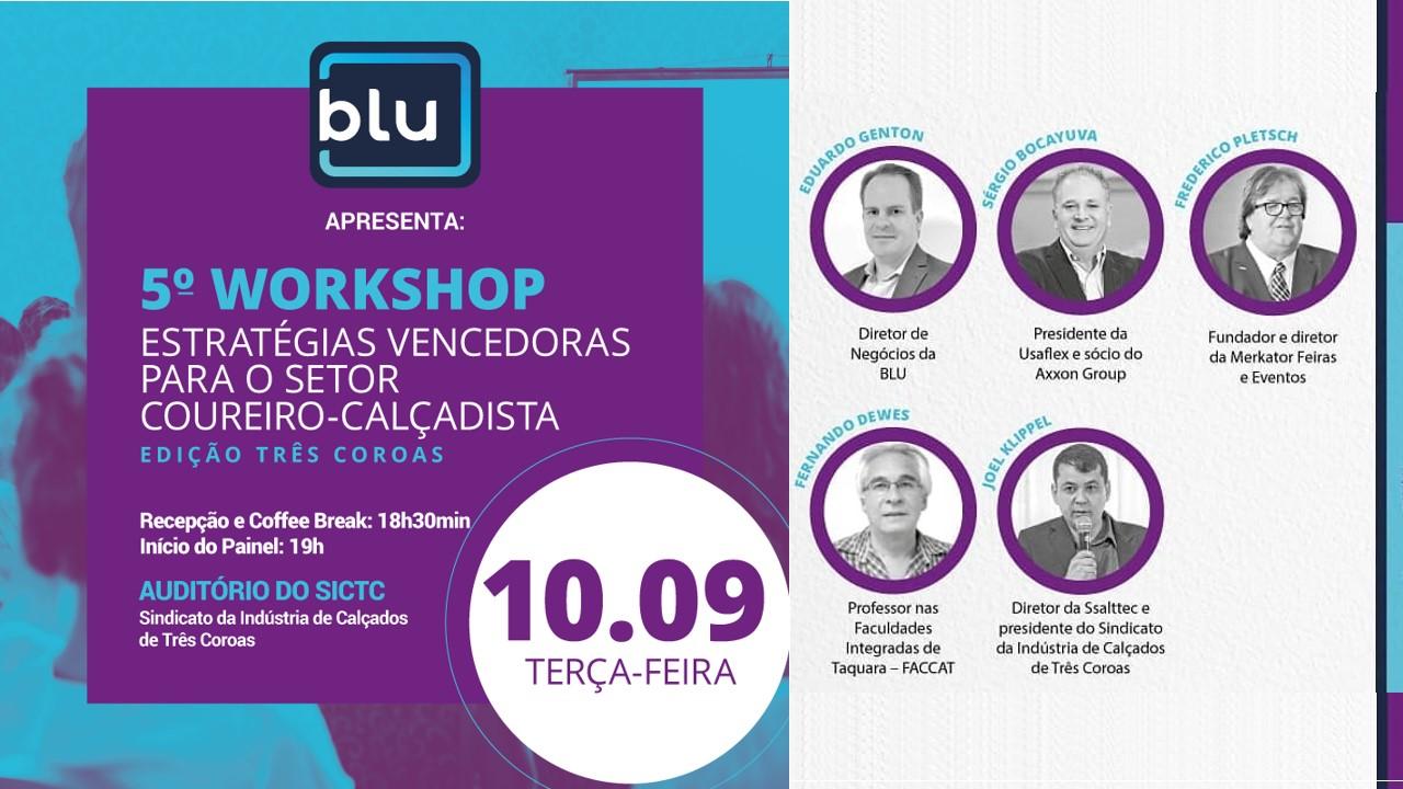 Workshop promove troca de vivências  no universo empresarial calçadista