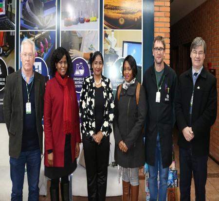 IBTeC recebe visita de Comitiva da África do Sul