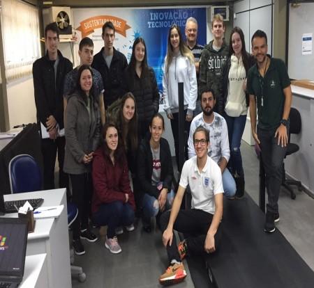 IBTeC recebe visita de alunos da Unochapecó