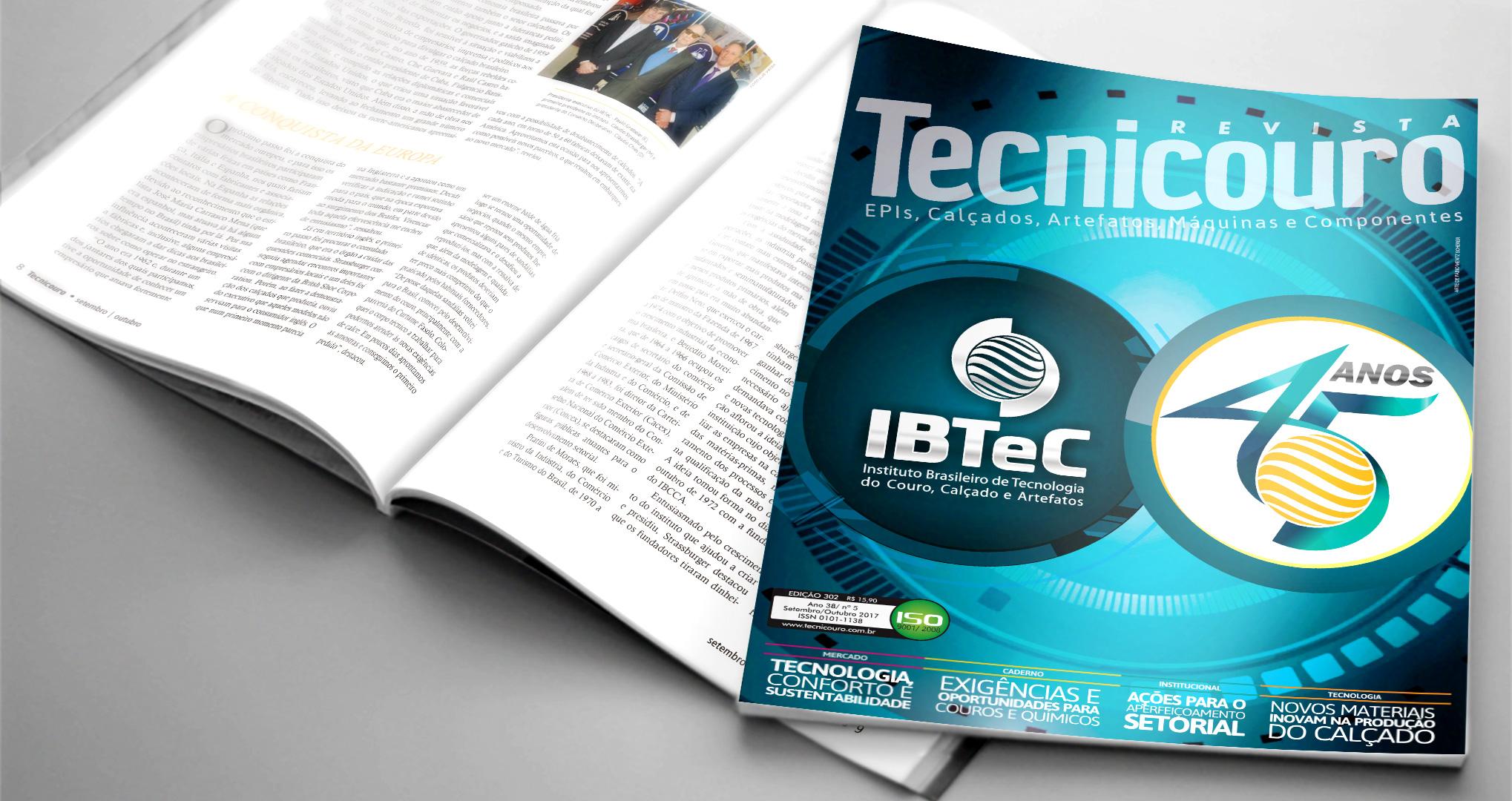 Edição Comemorativa da Revista Tecnicouro está no ar!