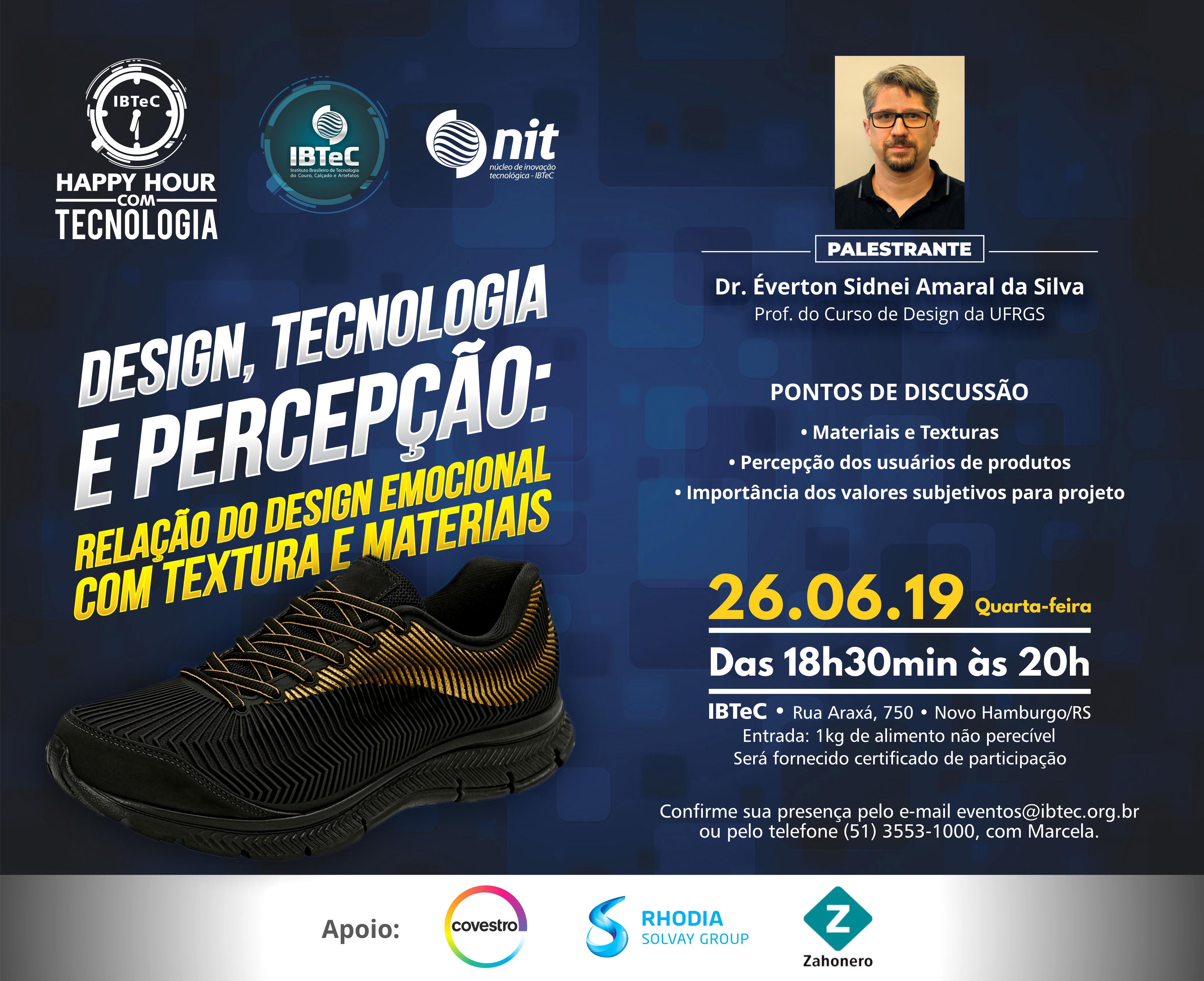 Design, Tecnologia e Percepção: Relação do design emocional com textura e materiais