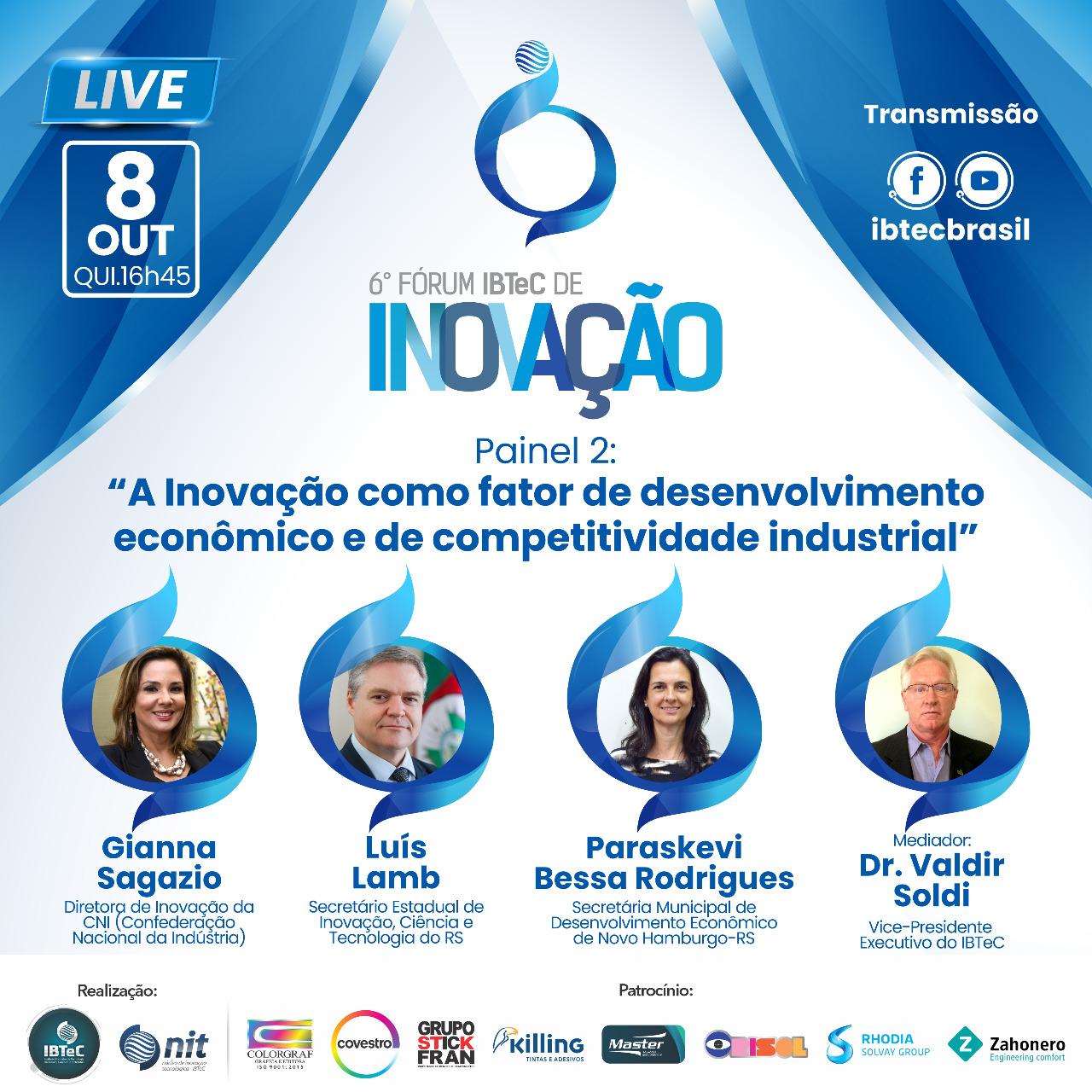 A Inovação como fator de desenvolvimento econômico e de competitividade industrial