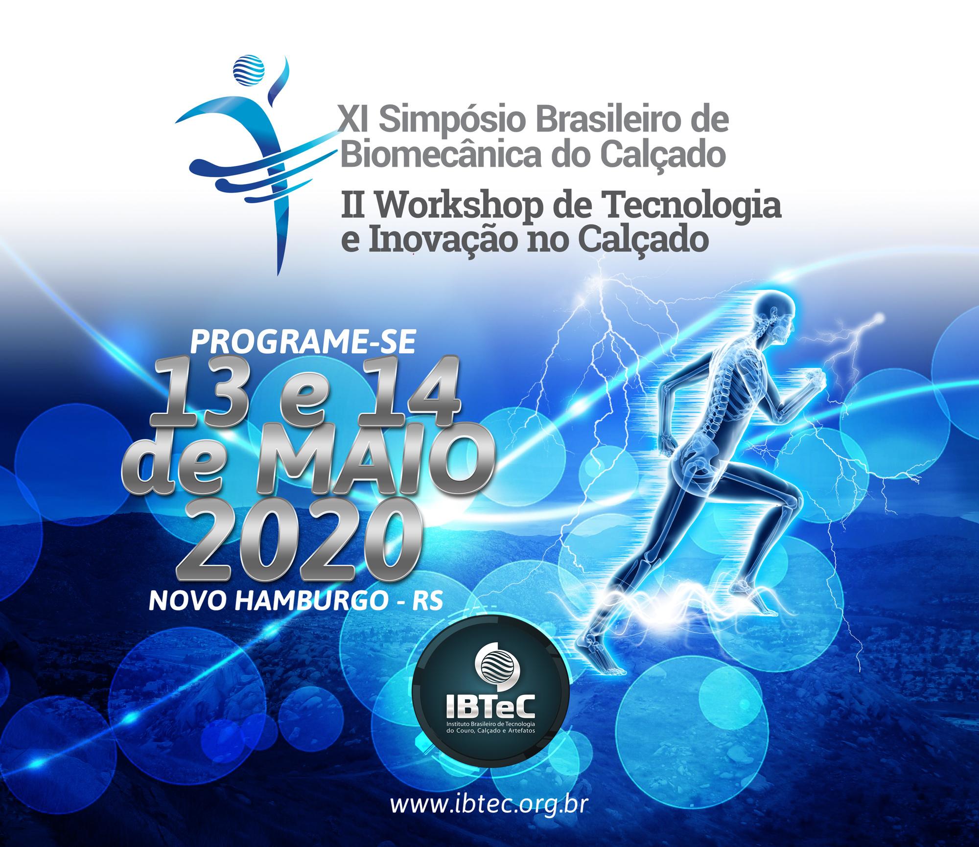 XI Simpósio Brasileiro de Biomecânica do Calçado e II Workshop de Tecnologia e Inovação no Calçado