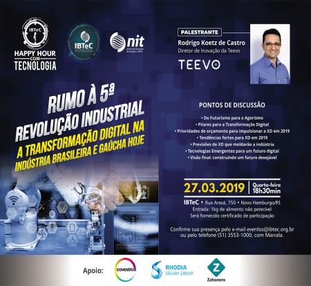 Rumo à 5ª revolução industrial: A transformação digital na indústria brasileira e gaúcha HOJE